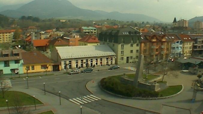 площадь Свободы. Ружомберок (Словакия)