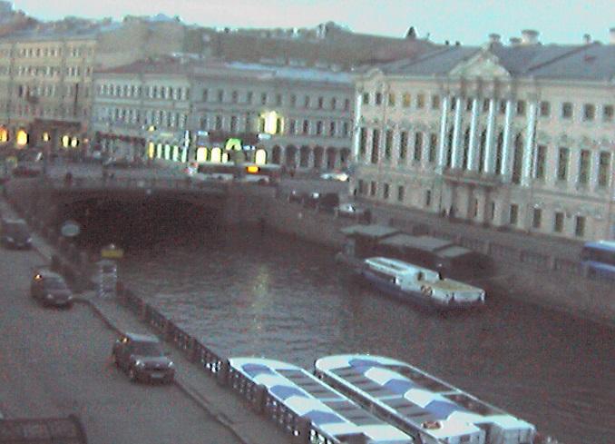 набережная реки Мойки. Санкт-Петербург (Россия)