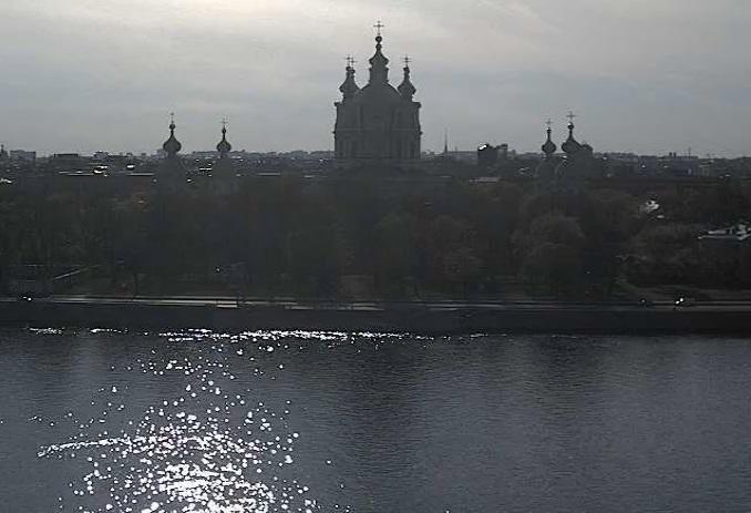 Смольный собор. Санкт-Петербург (Россия)