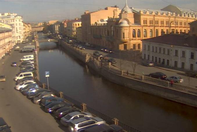 канал Грибоедова. Санкт-Петербург (Россия)