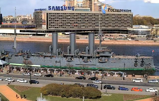 Крейсер Аврора. Санкт-Петербург (Россия)