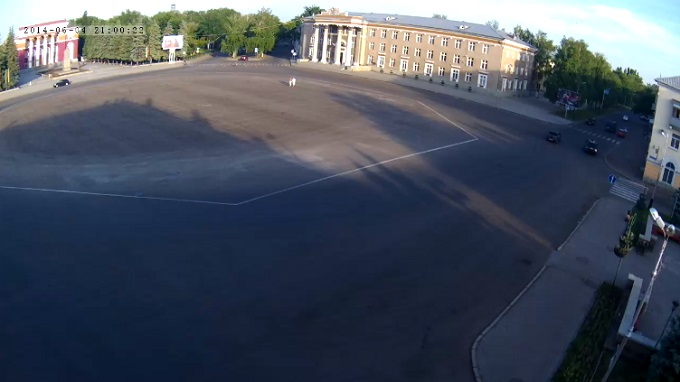 Площадь Ленина. Салават, Башкоркостан (Россия)
