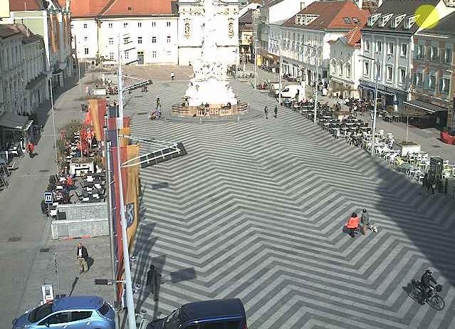 Площадь. Санкт-Пёльтен (Австрия)