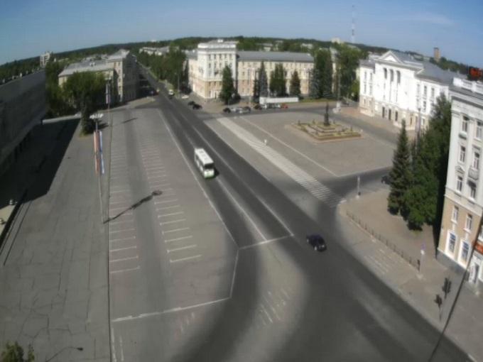 пл. Ленина. Саров (Россия)