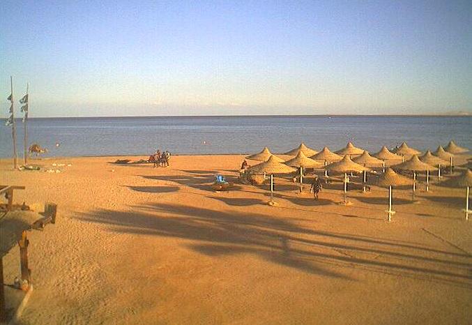 пляж. Шарм-эль-Шейх (Египет)