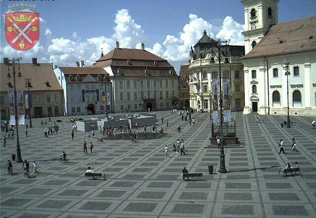 рыночная площадь. Сибиу (Румыния)