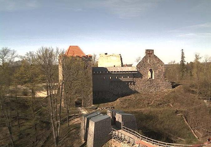 замок Зегевольд. Сигулд (Латвия)