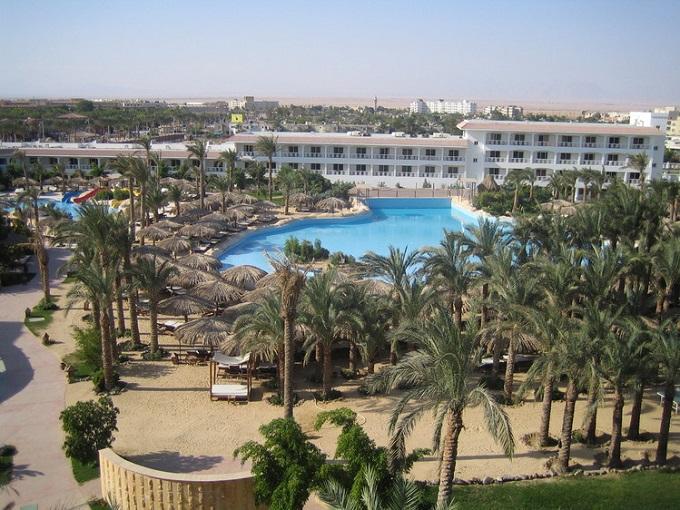 отель Sindbad Beach Resort 4*. Хургада (Египет)