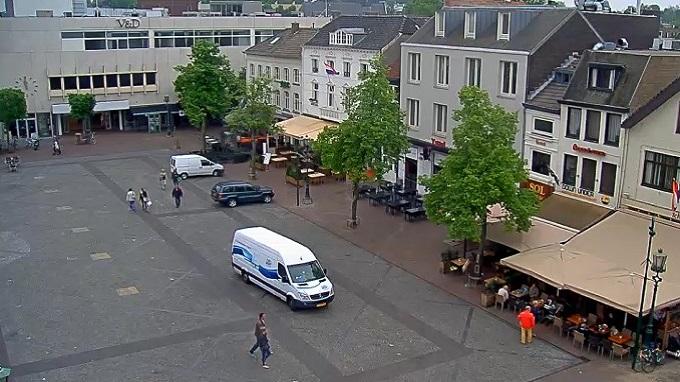 городская площадь. Ситтард-Гелен (Нидерланды)
