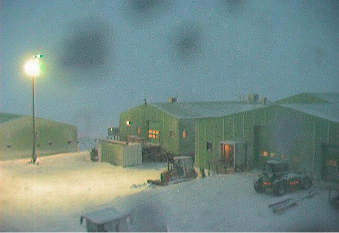 Новозеландская научная станция Скот Бейс. Антарктика