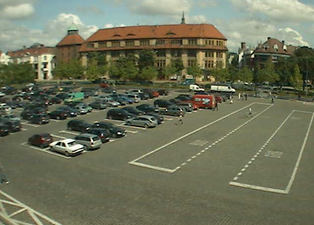 площадь Победы. Слупск (Польша)