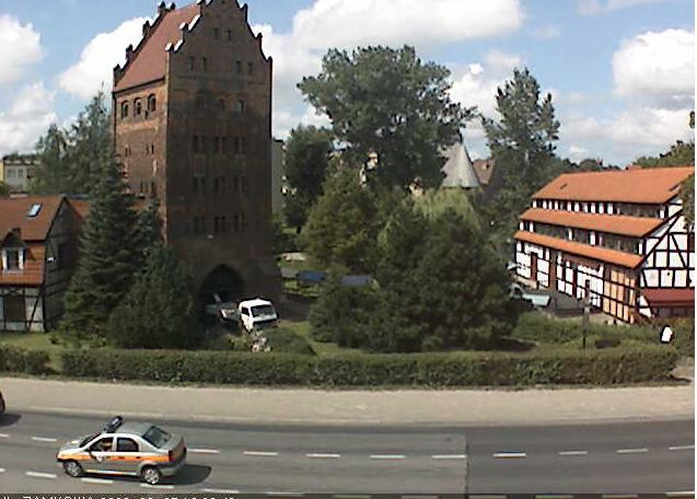 замок, башня ведьм. Слупск (Польша)