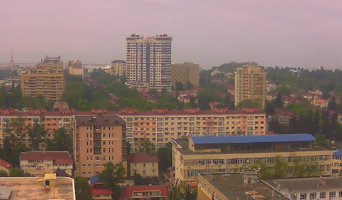 панорама. Сочи (Россия)