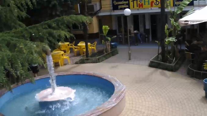кафе Пингвин. Лазаревское, Сочи (Россия)