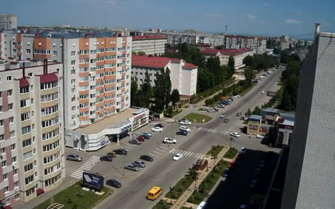 ул. Тухачевского. Ставрополь (Россия)