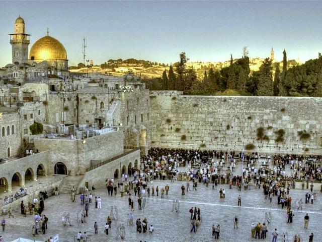 Стена Плача. Иерусалим (Израиль)