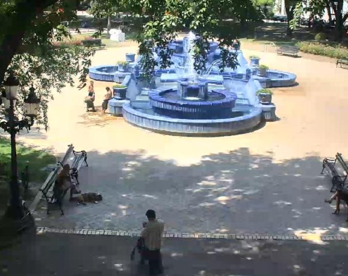 Голубой фонтан. Суботица (Сербия)