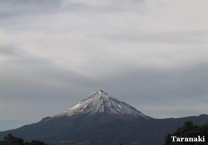 вулкан Таранаки (Новая Зеландия)
