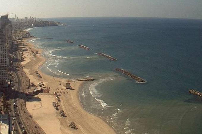 пляж. Тель-Авив (Израиль)