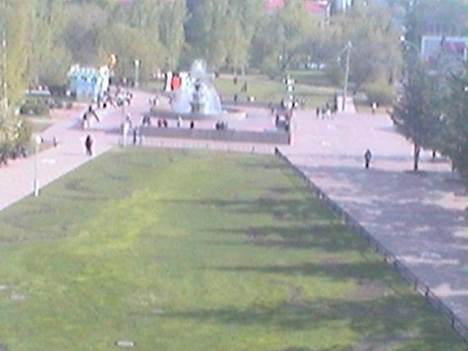 Ново-соборная площадь. Томск (Россия)