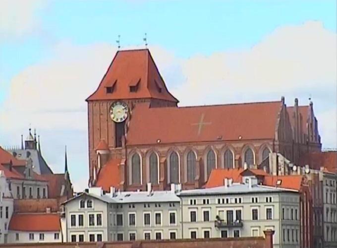 река Висла. Торунь (Польша)