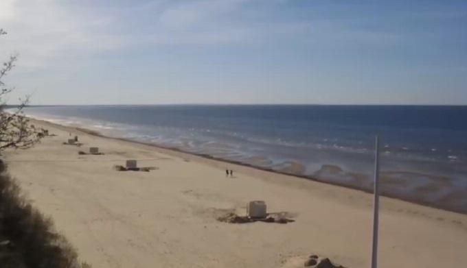пляж Майори. Юрмала (Латвия)
